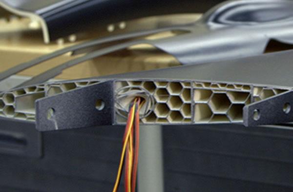 3D Printed Jet Aircraft Internal Wing Design