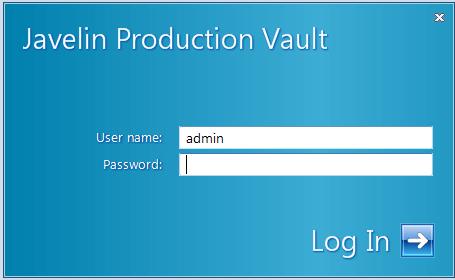 Log into Vault