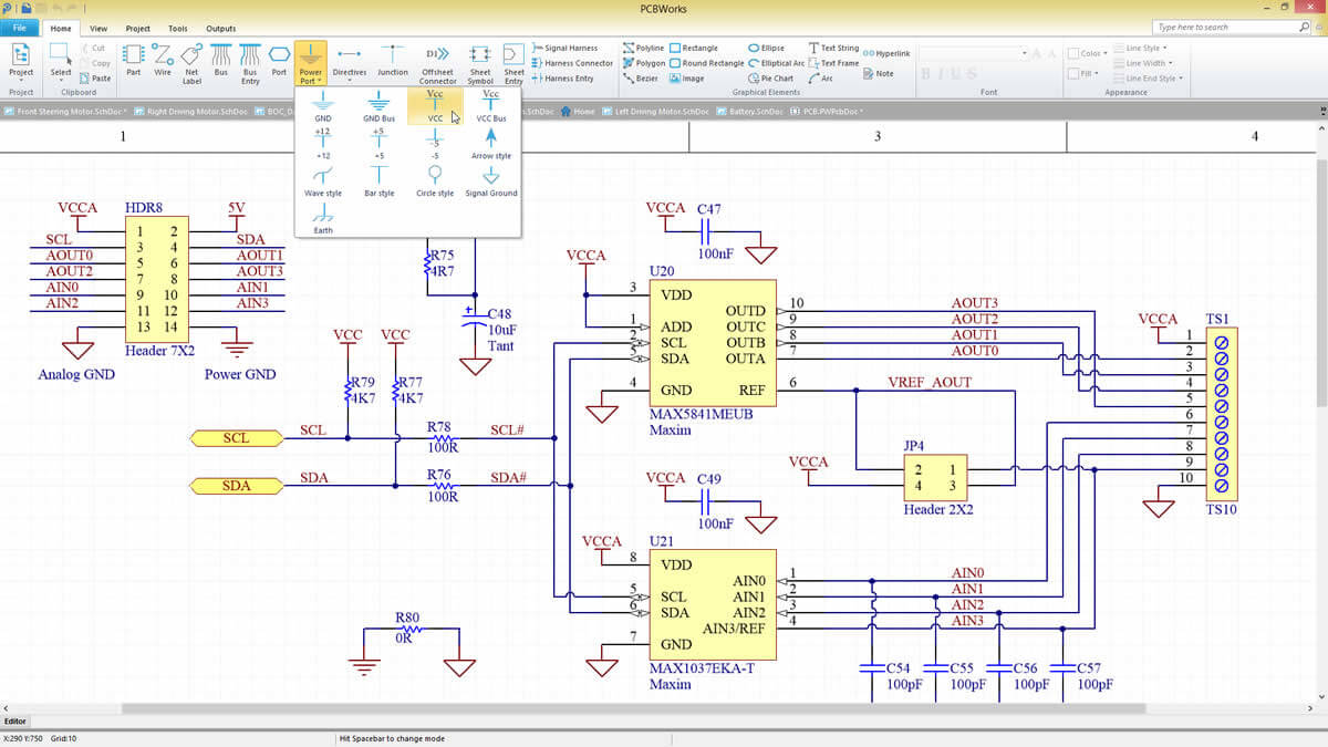 PCBWORKS ECAD Interface