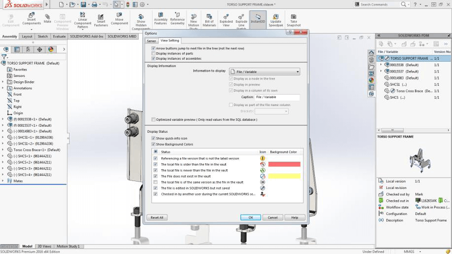 SOLIDWORKS PDM Standard Getting Started Guide