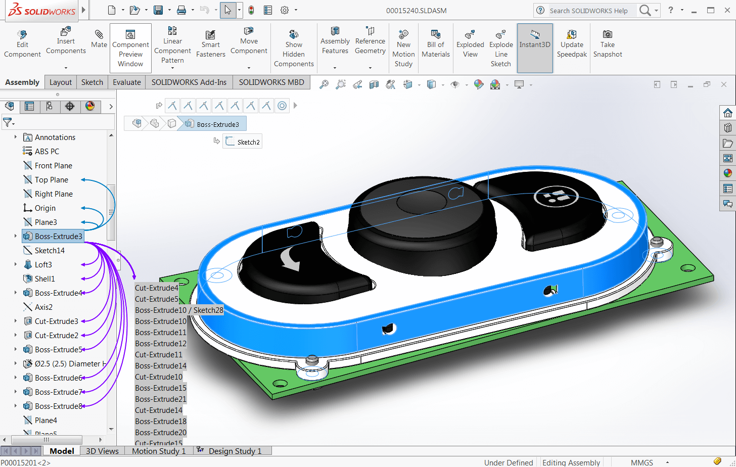 Solidworks User Interface In 2016