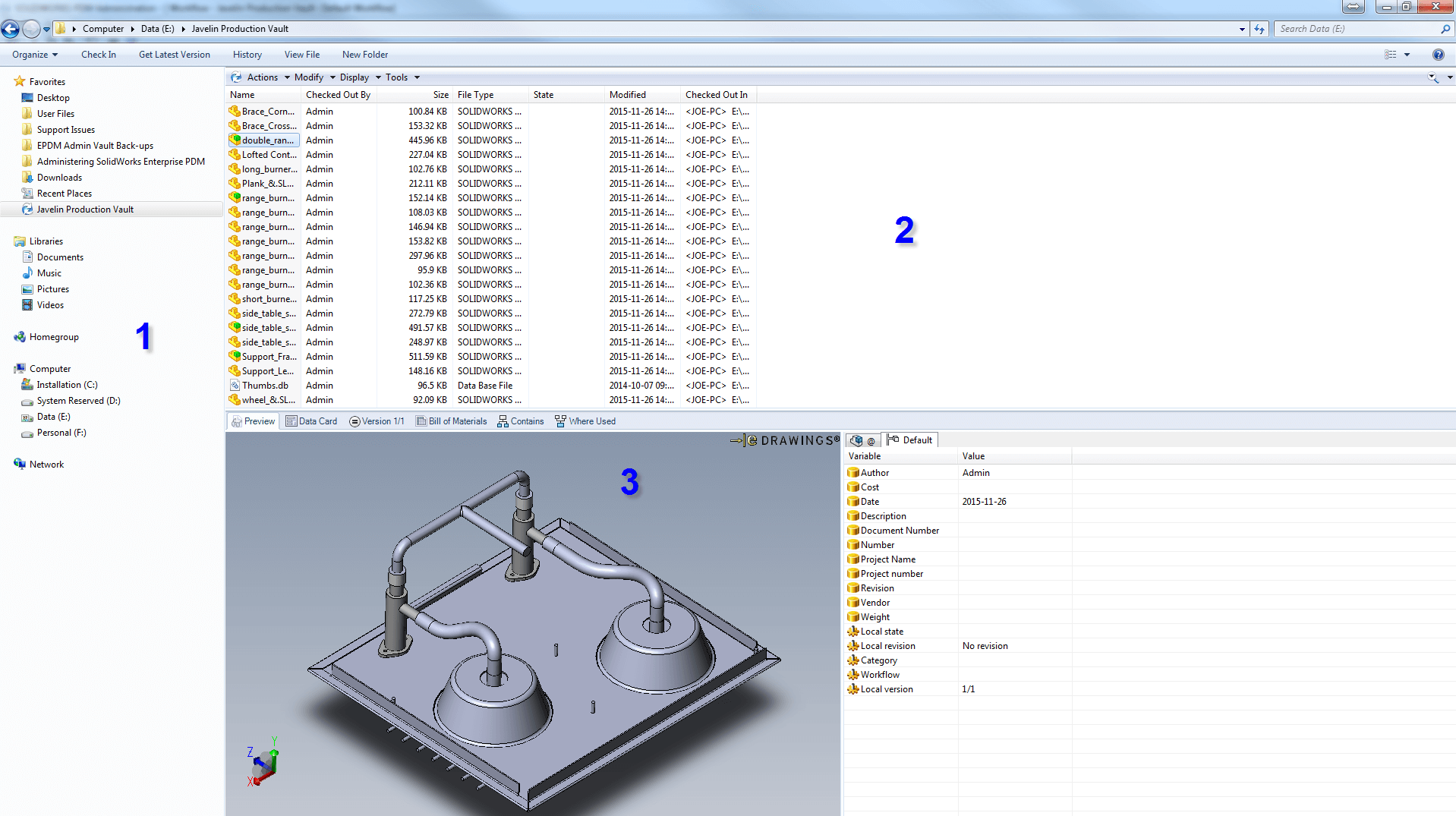 SOLIDWORKS PDM Standard Client - Solidworks electrical schematic serial number