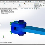 SOLIDWORKS Simulation 2016 Bolts and Pins on the Same Part