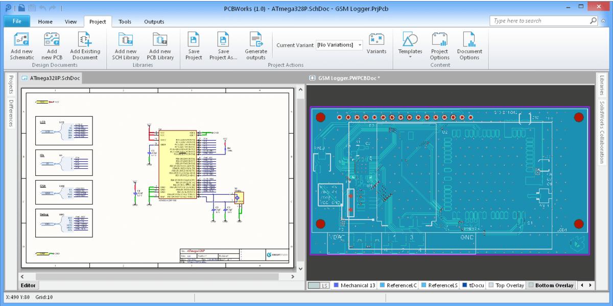 Schematic & PCB Editor