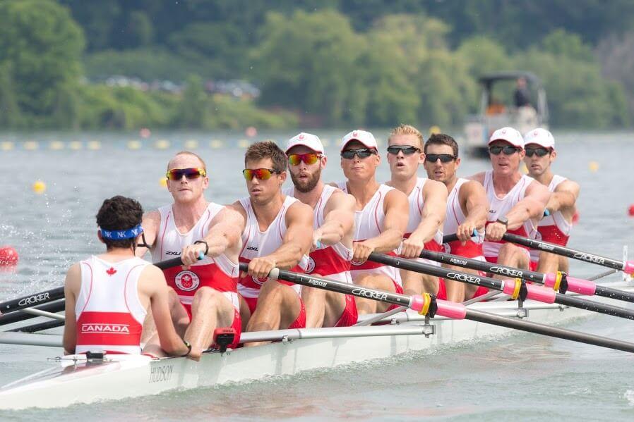 One of Canada's Rowing Teams