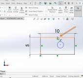 NEW IN SOLIDWORKS 2016 - Dynamic Highlighting of Midpoints (sketch entities)