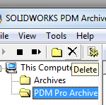 SOLIDWORKS PDM Professional 2016 Archive Server Configuration
