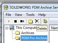 Delete archive