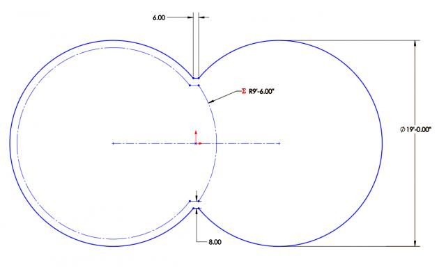 Dig Print for Figure 8 Pool Pool Design