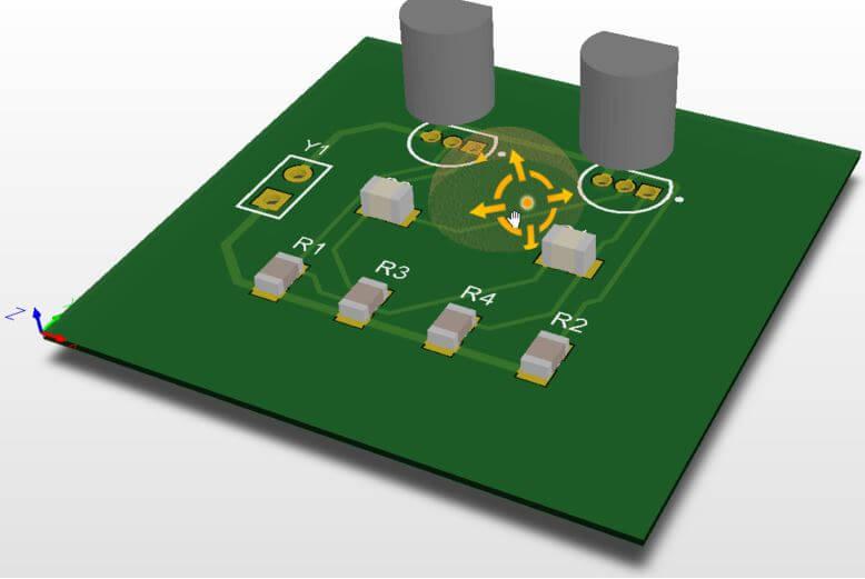 3D PCB Model