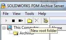 New root folder
