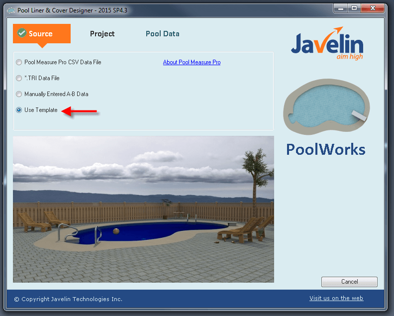 Create a new Pool
