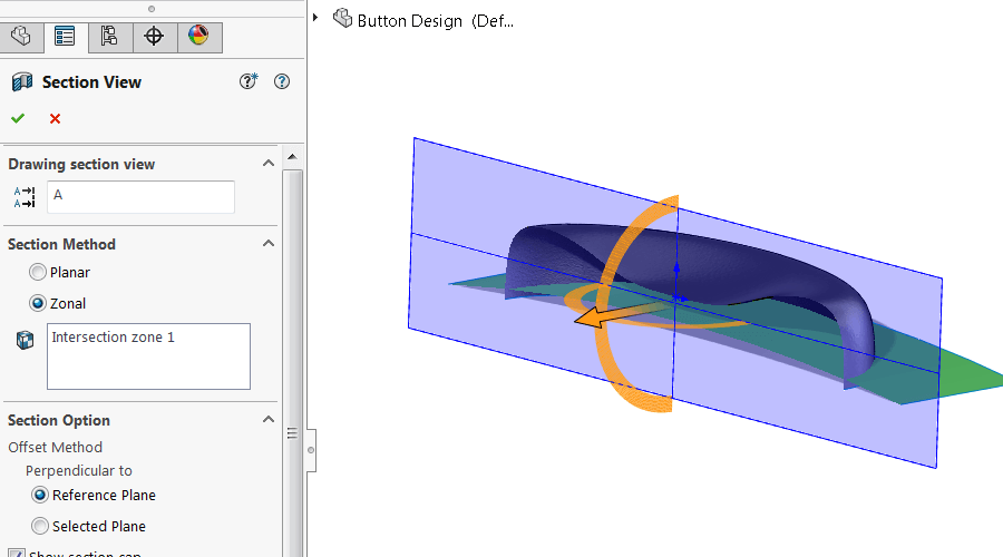 Surface Section View