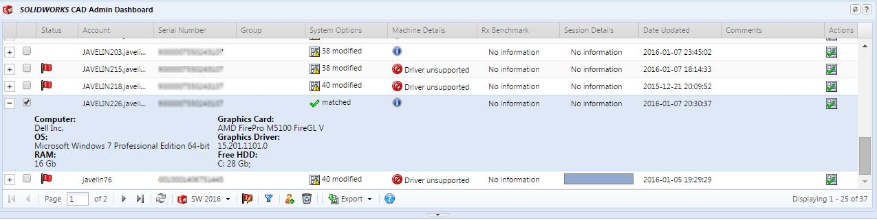 CAD Admin Dashboard