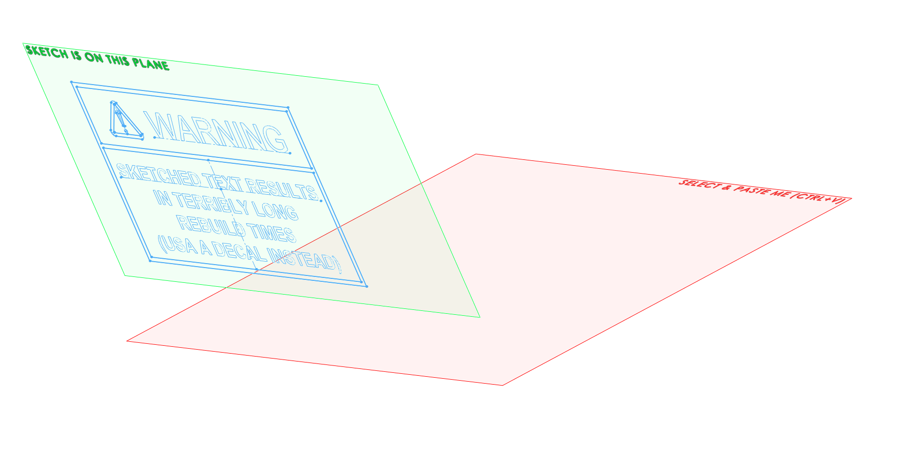 Copy Sketch Plane is different