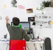 Designer in the office