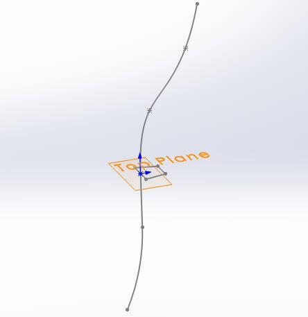 Profile along path