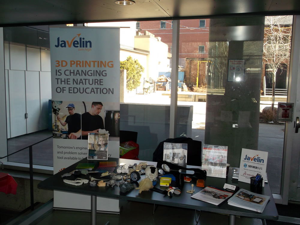 Javelin Booth at the Engineering World Health Symposium
