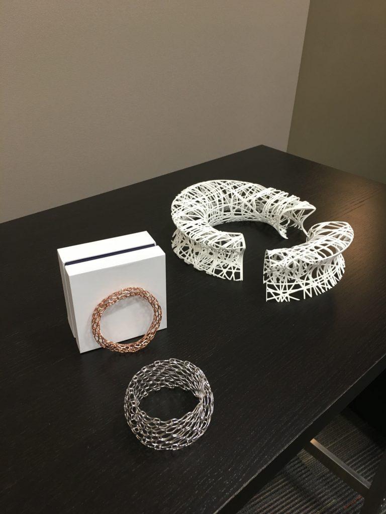 Daniel Christian Tang's 3D printed jewelry