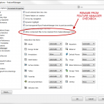 Rename SOLIDWORKS Files directly from the FeatureManager Design Tree