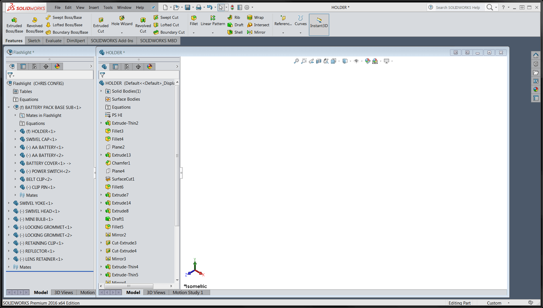 SOLIDWORKS 2016 Interface
