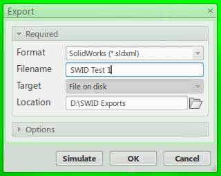 sldxml file format chosen