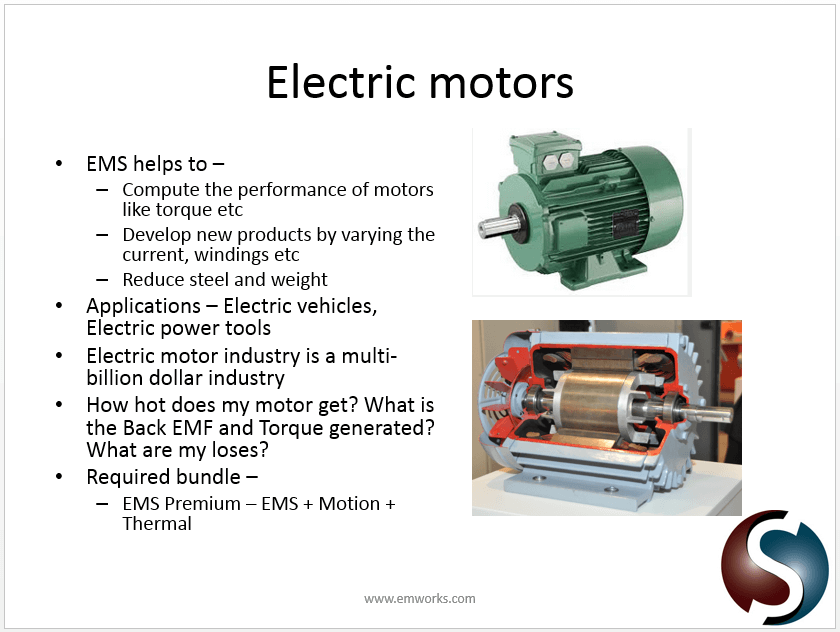 Electric Motor Design Solidworks And Ems