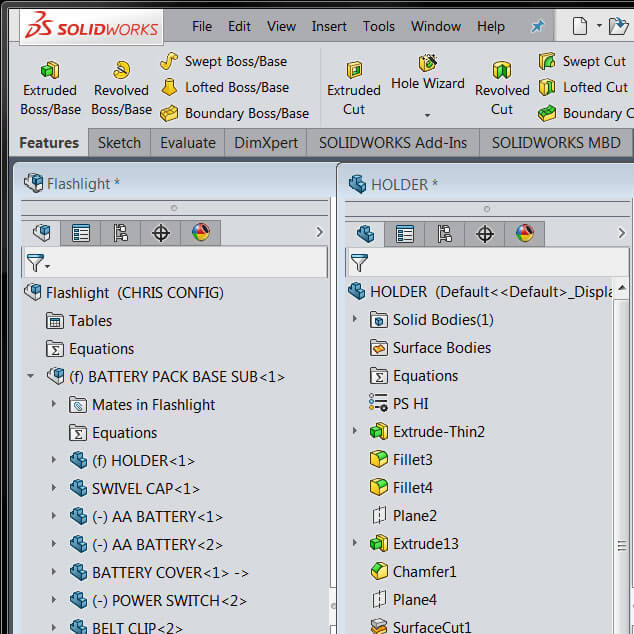 SOLIDWORKS 2016 UI