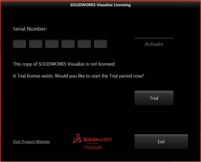SOLIDWORKS Visualize License
