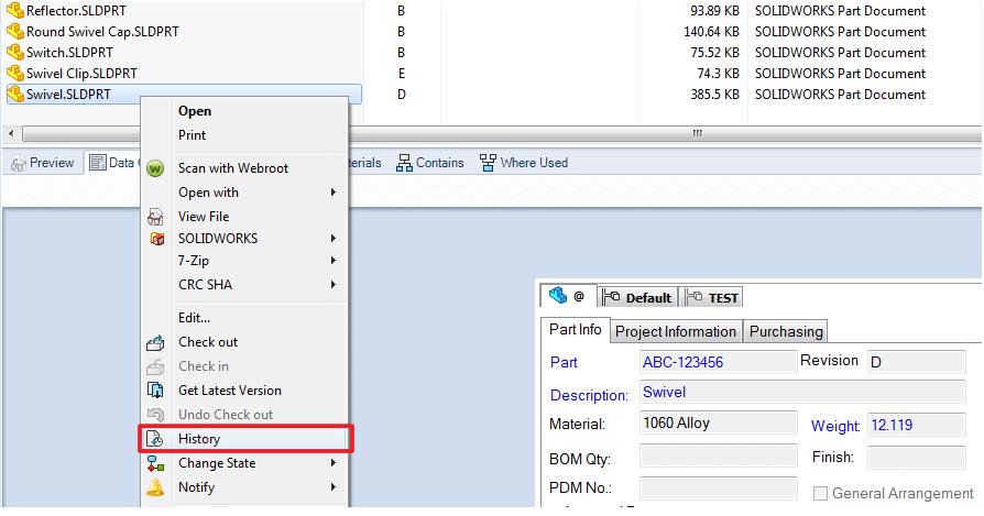 Access File History