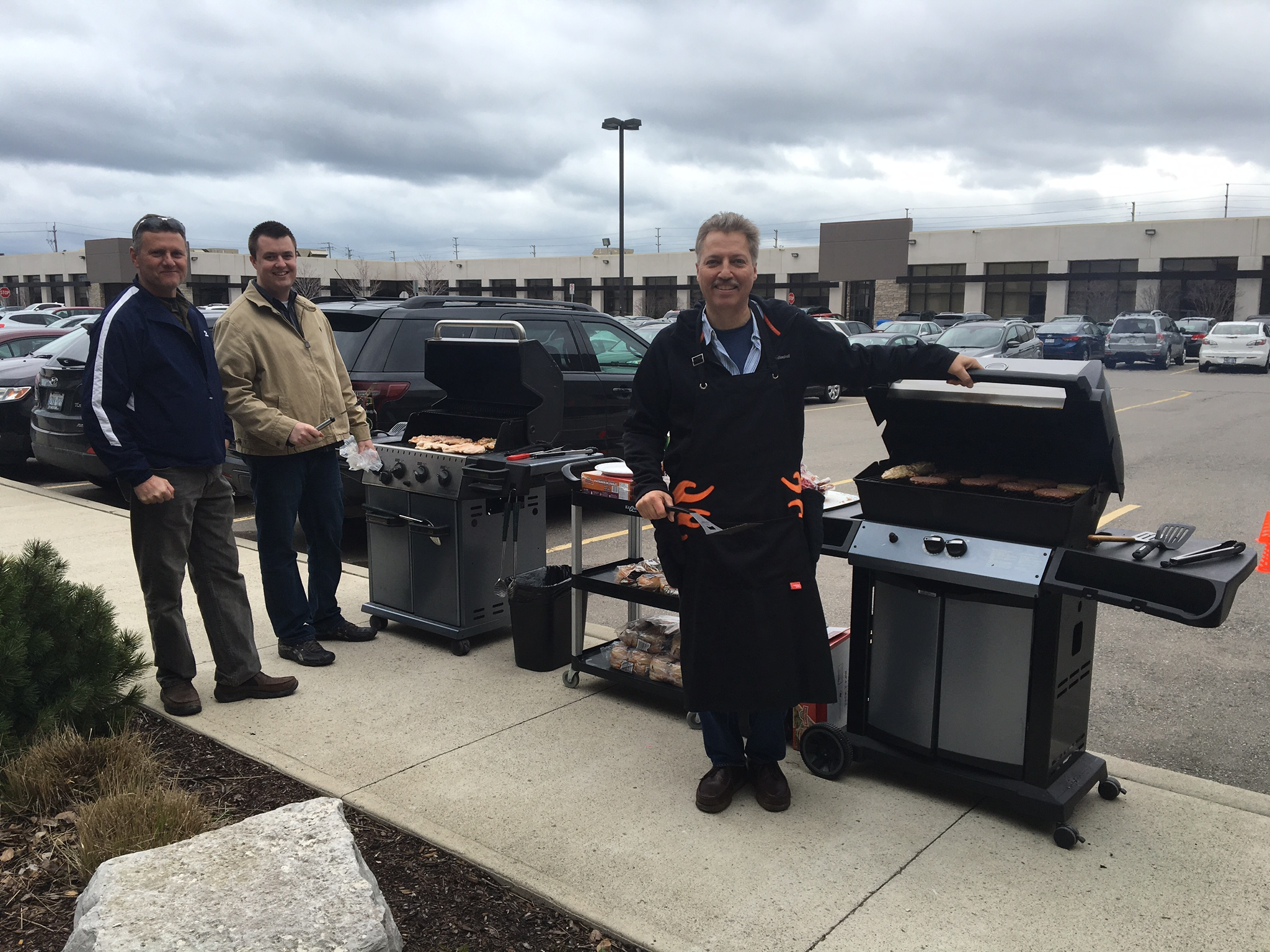 Javelin Technologies Celebrates Spring with a BBQ