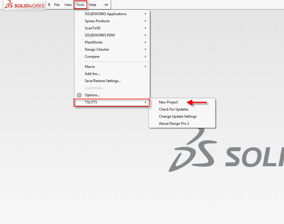 Design With Tslots Download A Free Tslots Solidworks Add In