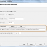 SOLIDWORKS SolidNetWork License Manager Options File provides additional control