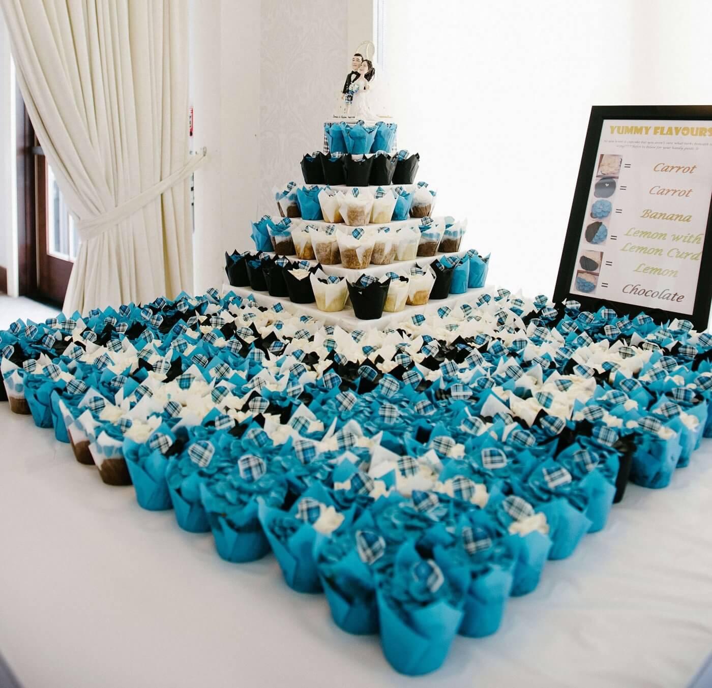 Cupcake stand at my wedding
