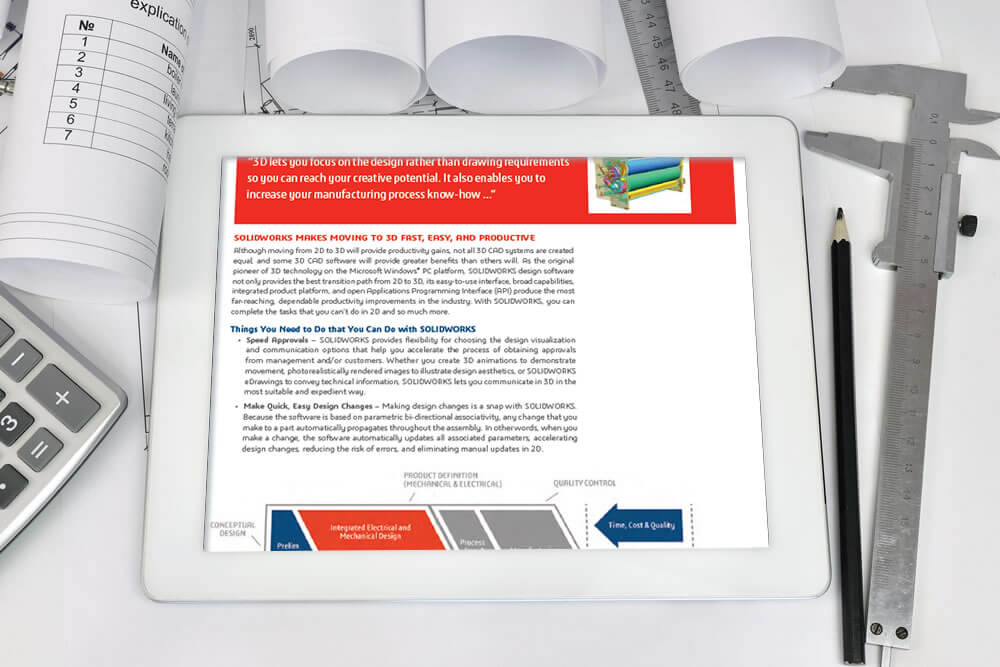 2D to 3D CAD White Paper