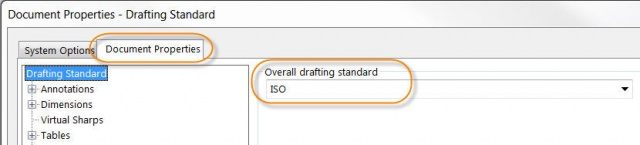 ISO Document properties