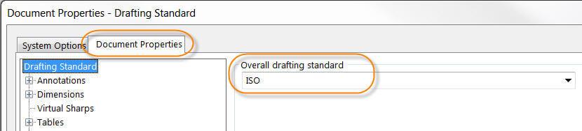 ISO - Document properties