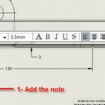 How to Link SOLIDWORKS Flag Notes to Balloons or Notes in a Drawing