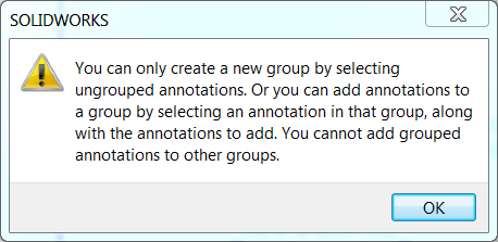 Group Error