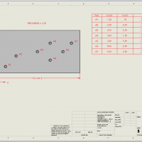 SOLIDWORKS Hole Table