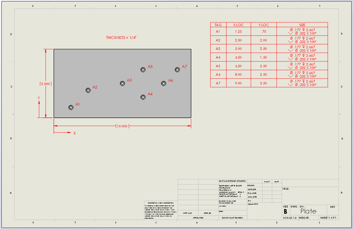 Why you should be using a solidworks hole table for Design table not working solidworks