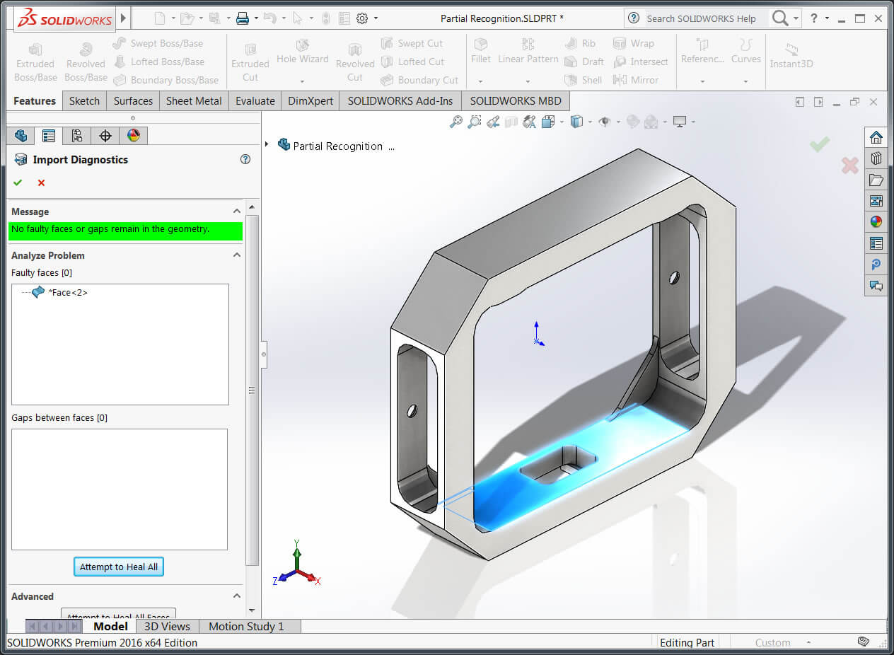 import data into SOLIDWORKS