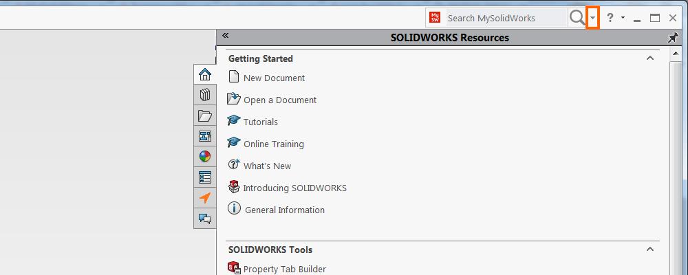MySolidWorks Search
