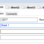 Information entered in SOLIDWORKS PDM Sheet Tabs cannot be linked to Drawing Annotations