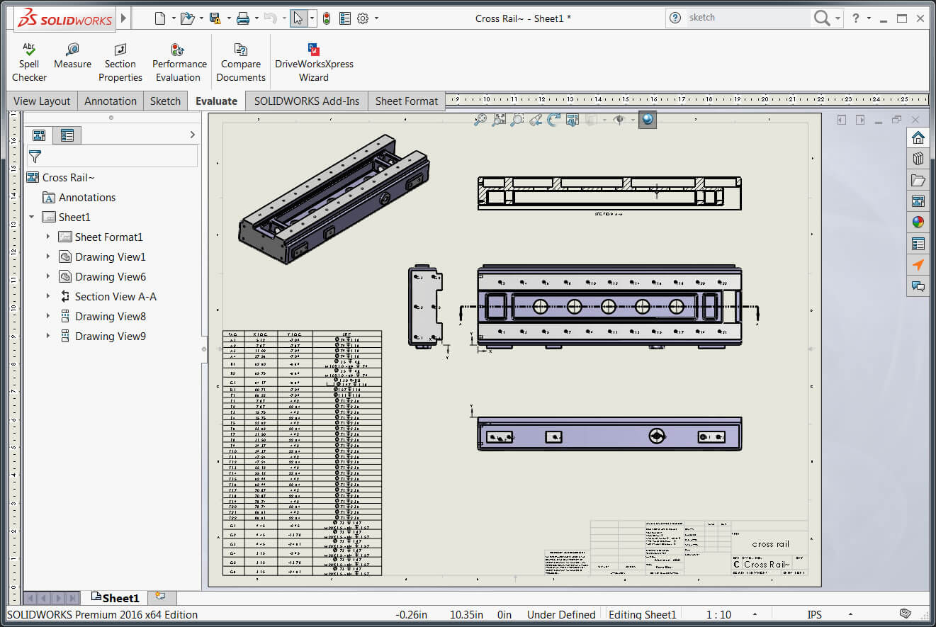 SOLIDWORKS Drawing slow load