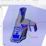 Customized SOLIDWORKS Section Views using Parallel to Screen Planes