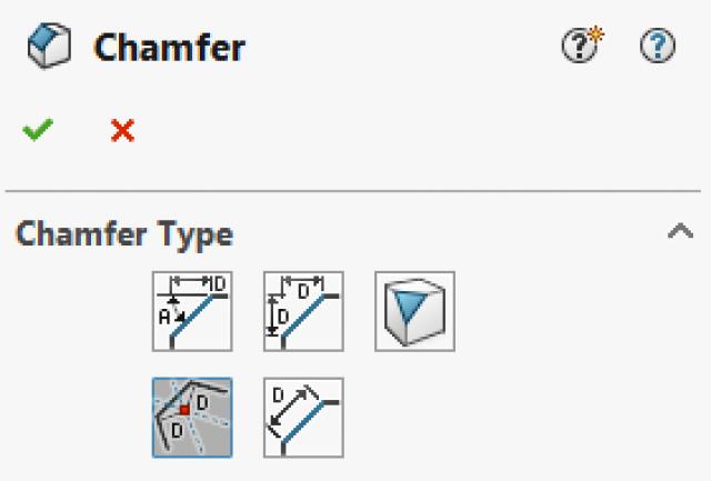 Offset Chamfer