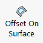 Offset of Surface Button