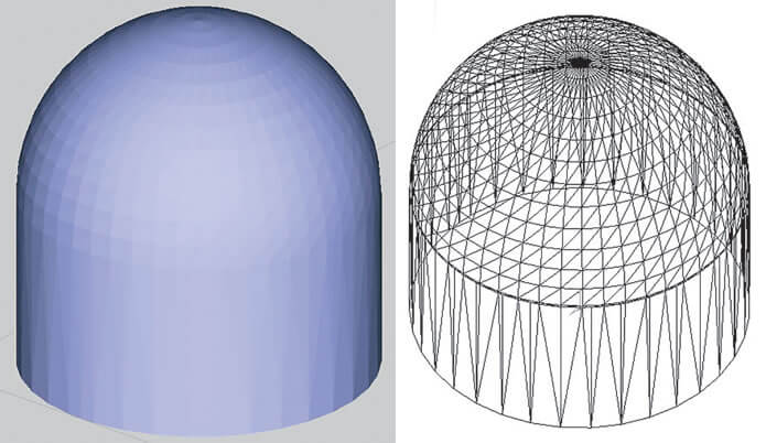 Coarse STL File produces larger triangles, rougher finish