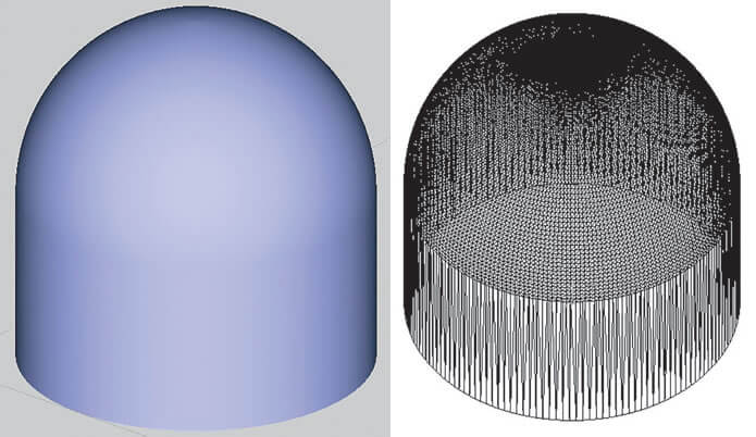 Fine STL file produces a smoother model